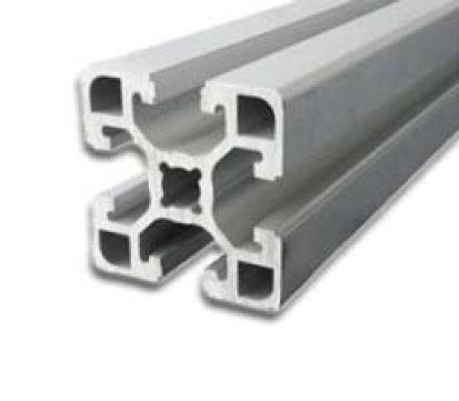 پروفیل آلومینیوم شیاردار مهندسی سنگین 45x45